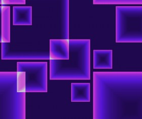 Purple square modern background vector