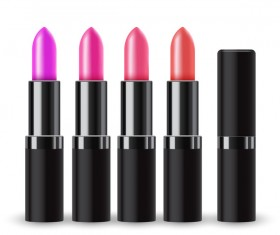 Realistic lipstick illustration vector 01