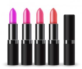 Realistic lipstick illustration vector 01