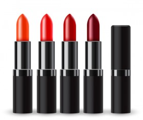 Realistic lipstick illustration vector 02
