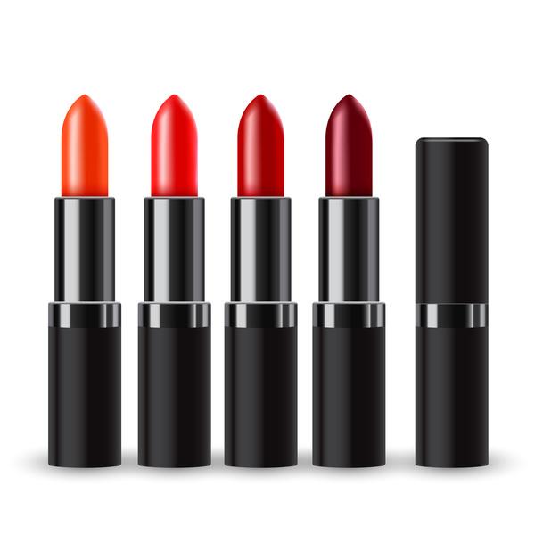 Realistic lipstick illustration vector 02