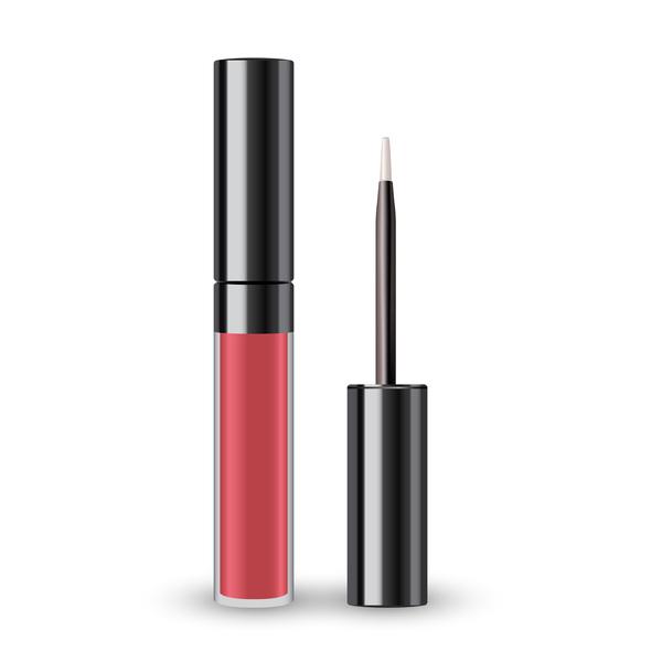 Realistic lipstick illustration vector 03