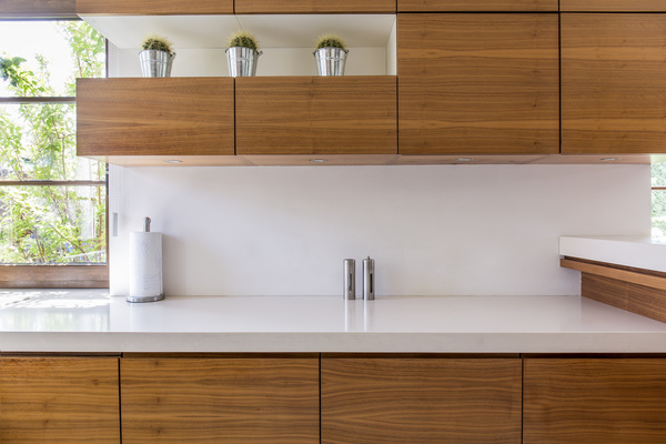 retro wooden kitchen hanging cabinet stock photo 02 free