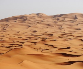 Sand dunes of Sahara desert Stock Photo 01