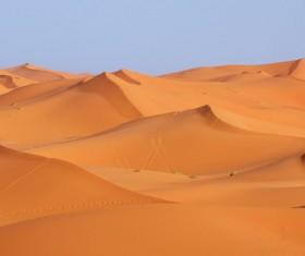 Sand dunes of Sahara desert Stock Photo 02