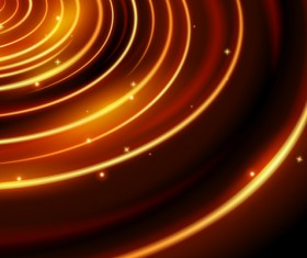 Shining spark ring background vector 02