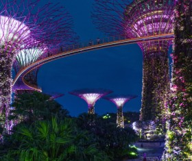 Singapore night view Stock Photo