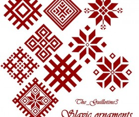 Slavic ornaments photoshop brushes