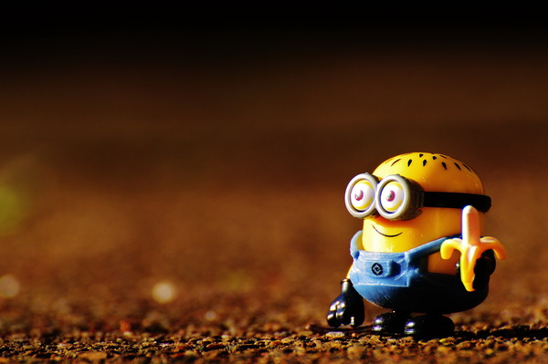 Small Yellow People Stock Photo Free Download