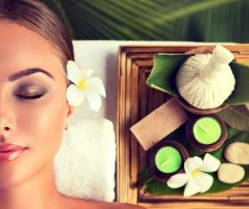 Spa Massage Stock Photo 01