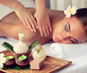 Spa Massage Stock Photo 02