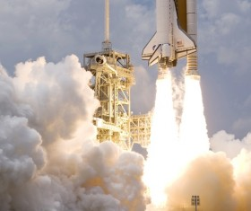 Space Shuttle Stock Photo 01