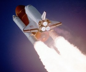 Space Shuttle Stock Photo 02
