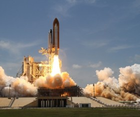 Space Shuttle Stock Photo 05