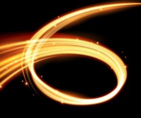 Spark wavy lines abstract vector 05 - Vector Abstract, Vector ...