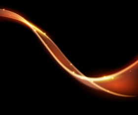 Spark wavy lines abstract vector 08