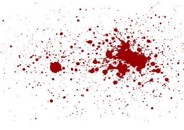 Splashing blood effect vector background 02 free download