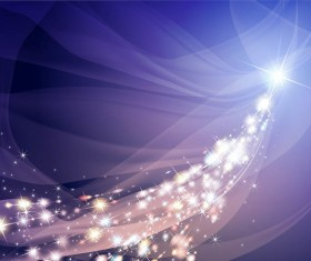 Star light abstract background vector material