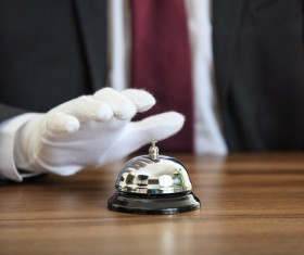 Stock Photo Service Bell 05