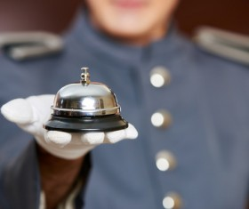 Stock Photo Service Bell 08