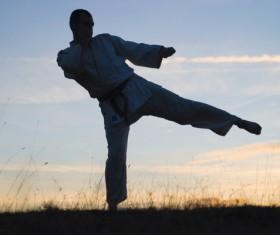 Taekwondo training Stock Photo 01