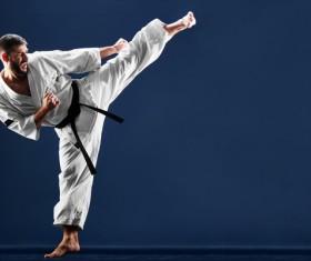 Taekwondo training Stock Photo 02
