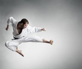 Taekwondo training Stock Photo 03