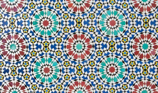 Tile pattern puzzle HD picture 05