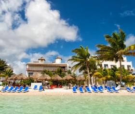 Tropical Beach Stock Photo 03