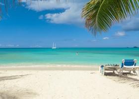 Tropical Beach Stock Photo 06