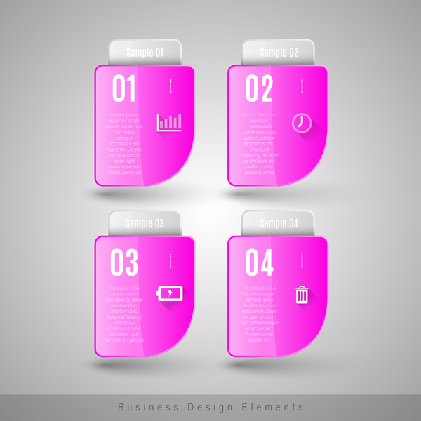 U disk purples infographic vector
