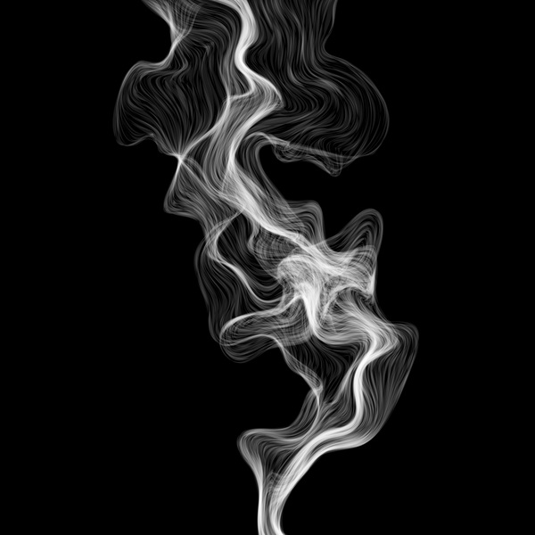 White Smoke Abstract Background Vector 01