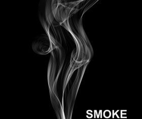 White smoke abstract background vector 02