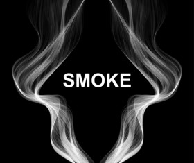 White smoke abstract background vector 04