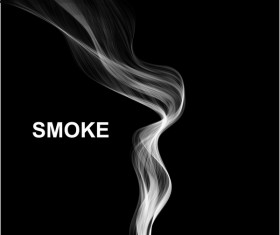 White smoke abstract background vector 05