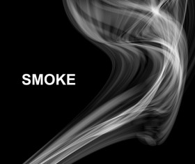 White smoke abstract background vector 06