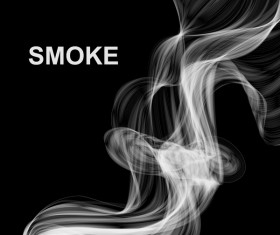 White smoke abstract background vector 07