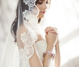 White wedding beauty HD picture