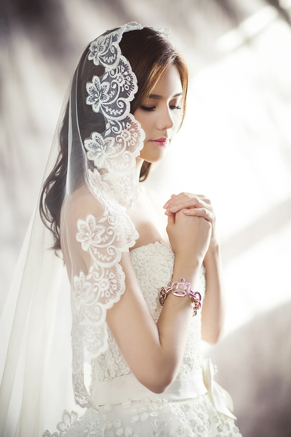 White wedding beauty HD picture - People stock photo free ...