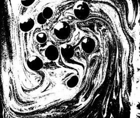 White whti black liquid mixing background vector 04