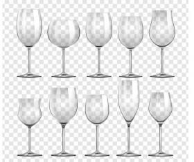 Wine glass illustration vector