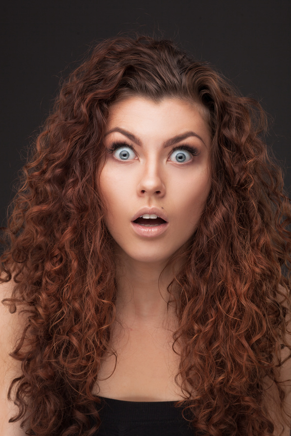 Woman shocked expression HD picture free download  Woman shocked e...
