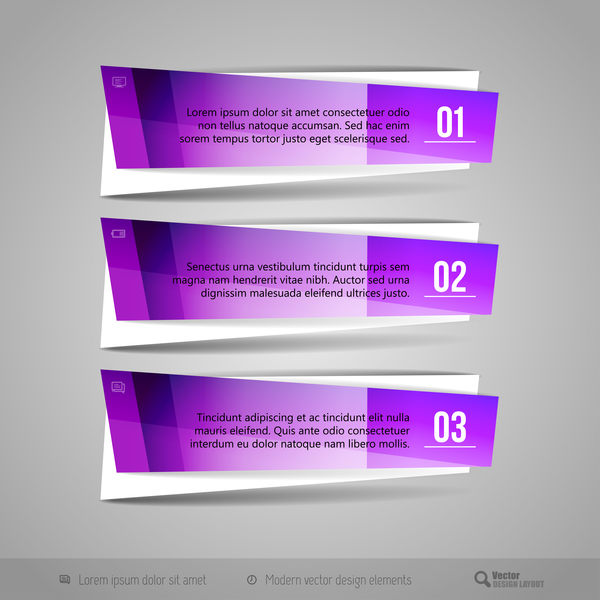 banners two stripes glass texture banners vector