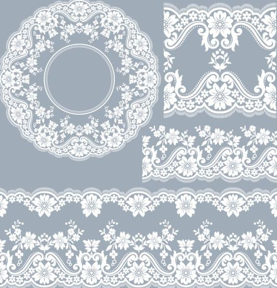 lace vector for free download