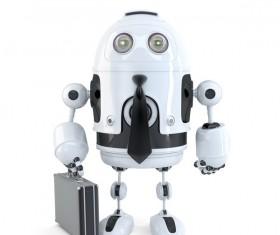smart robot Stock Photo