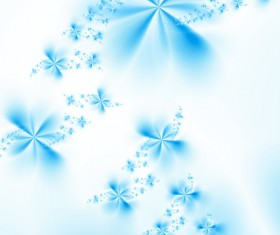 Abstract blue flower background HD picture 01