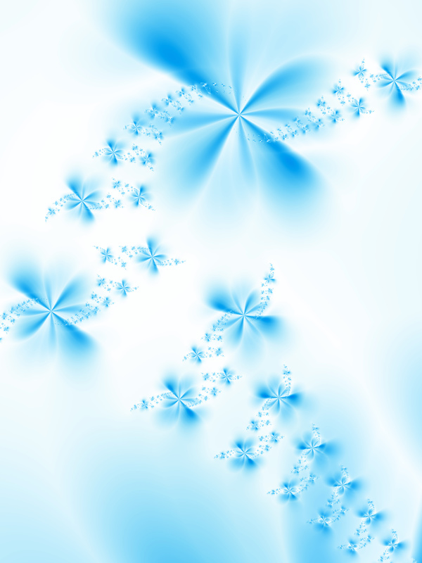 Abstract Blue Flower Background Hd Picture 01 Abstract