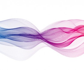 Abstract colorful muslin vector 01