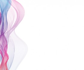 Abstract colorful muslin vector 02