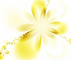Abstract yellow flower background Stock Photo 01